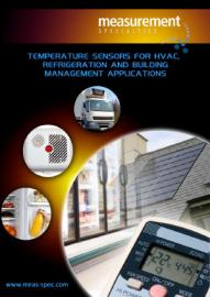 Temperature products for HVAC, refrigeration and building management applications